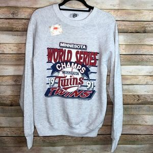 Minnesota Twins World Series Champs 1991 NWT Vtg